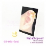C5-051-Gold ต่างหูหนีบ ที่หนีบใบหู (Ear Cuff) แบบห่วงคู่ สีทอง