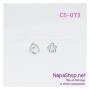 C5-073 ต่างหูหนีบ ที่หนีบใบหู (Ear Cuff) รูปดาว